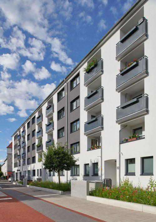 Heimkehr eG   Fassadensanierung